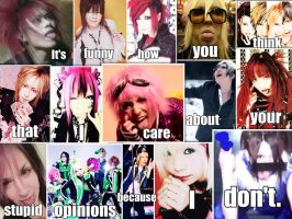 Visual Kei collage by Laddchan5103