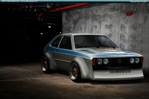 VW Scirocco Trans AM by Crackers-fancy
