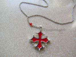 Elise - Assassin's Creed Inspired Necklace by thingamajik