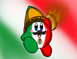 Mexican Kirby by DarkraDx