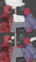 Spideypool by Sun0923