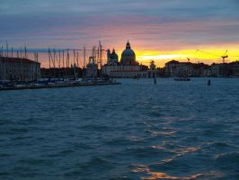 Venice at sunset by Teeno2007