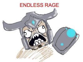 Endless Rage League of legends by undeadcheesecake