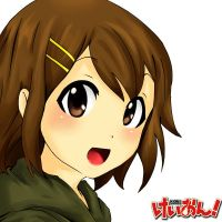 K-on- Hirasawa Yui by pichinayu
