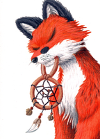 Dreamfox ACEO by EclipsisStudios
