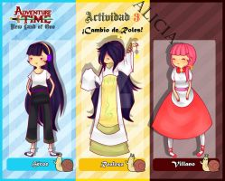 Cambio De Roles .:Alicia:. by devil-remix