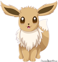 Eevee by Stacona