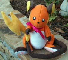 Improved Raichu Plushie by Fliegs
