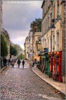 Parisienne Walkways by Arte-de-Junqueiro