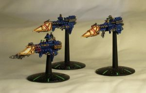 Firestorm and Sword Frigates by ROBOPOPE