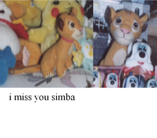 i miss you, Simba by Justwelydia