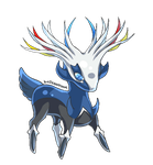 Xerneas Animated Chibi Pokemon X/Y by birdzgoboom