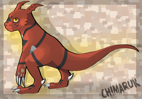 -FanArt- Guilmon by Chimaruk