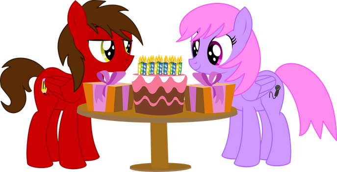 Chip and Melody Notes Vector - Party by CyanLightning