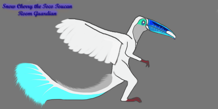 Snow Cherry the Toco Toucan Room Guardian Idea by ThunderFatalis