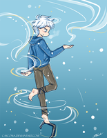 ROTG - Jack Frost by caycowa