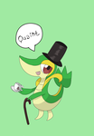 POKEDDEXY Day 10- Favorite Grass Type-Snivy by AnimeBlue92