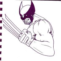 Wolverine by xashe