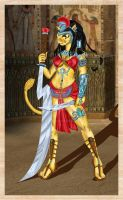 Sekhmet-Lion goddess Censored by scarerick