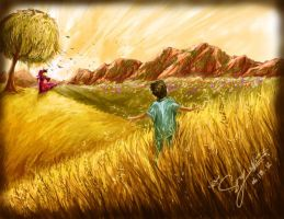 Goldengrass by SoniiiMelody