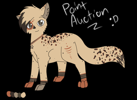 Point Adoptable Auction 2 *sold* by KittenthePsycho