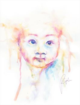 Child's Face by creativephlips
