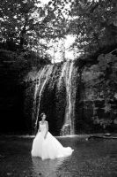 Trash the Dress: Waterfall by environaut