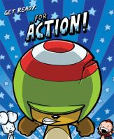 ACTION BEAVER by icanseeyourmonkey