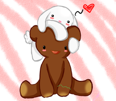 Bear and a Bunny by Chibibluishi