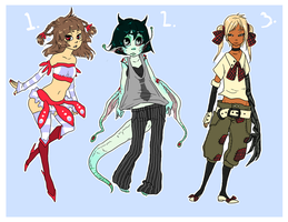 Point Adoptables Sheet II SOLD by aerryi