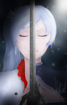 [Fanart] Weiss of RWBY-Then and Now by SkellyCat