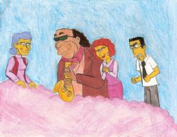Simpsons' Heaven by Violeta960