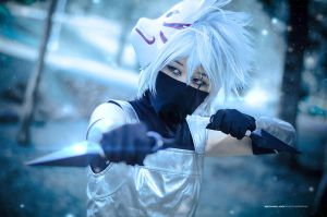 Naruto - Kakashi (Anbu Version) by wkwebsite