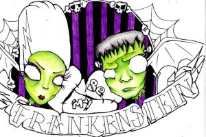 Be my Frankenstien by Chibipanduh