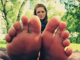 My Toes. 1 by BrittFire