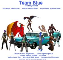 Road Rally - Team Blue by lethe-gray