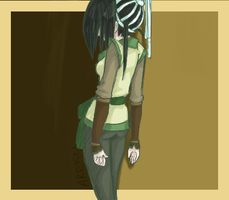 Older Toph by sombii