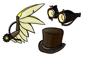 Steampunk Charms by Mystic-Snail