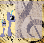 Lavender Piano Journal Skin by HowlingWolf64