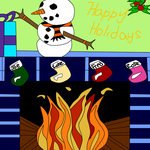 Holiday Card Project 2014 by Cherrywind101