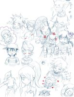 Brawl Doodles by jakuki-sama
