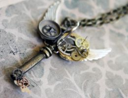Another Steampunk Key by CakeFruit