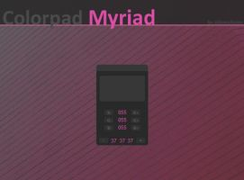 Myriad Colorpad by AlbinoAsian