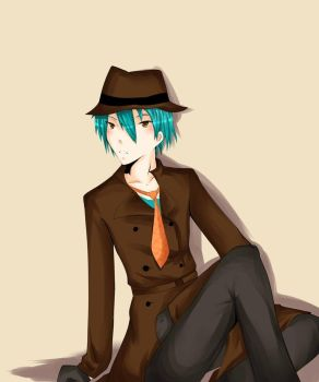 Perry the Platypus: Human by IntoTheFrisson