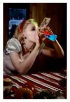 Alice and the Drink by alicearmstrong