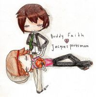 RQ: Buddy + Jacques by Akip-chan