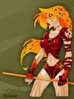 Cheetara Colored by DanielMead