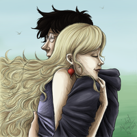 HP: Harry And Luna by CrystallineColey
