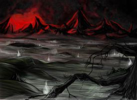 The Dead Marshes by Amaryan