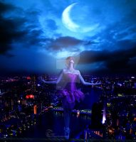 Dance above the city by Angel-Creations95